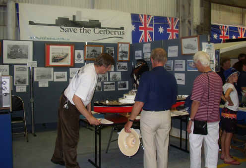 Friends of the Cerberus' webmaster, John Rogers