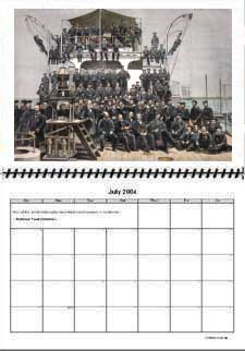 Click to download A4 x 2 size calendar.