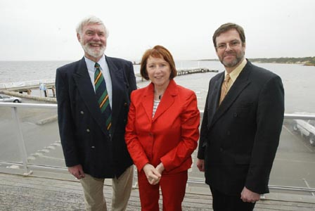 (L-R) Seasoned campaigners Graeme Disney & Peter Tully